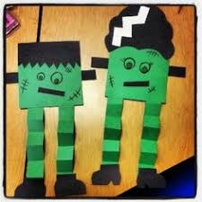 Halloween Crafts For Young Children - a cupcake for the teacher my frankenstein a craftivity fall