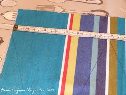How To Sew A Flag How To Make Easy Peasy Bunting U2013 Produce From The Garden