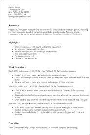Radio Personality Resume Tv Host Resume Sle 28 Images Television Host Resume Sle