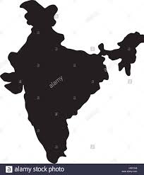 World Map Silhouette India Map Silhouette Stock Vector Art U0026 Illustration Vector Image