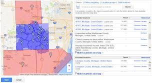 Ann Arbor Zip Code Map by Ppc Optimization Zip Code Targeting