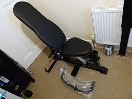 powertec workbench gym weight utility bench in mint condition
