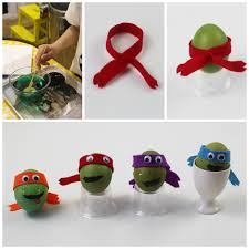 How To Decorate Boiled Eggs For Easter Teenage Mutant Ninja Turtle Decorated Eggs Mum In The Madhouse