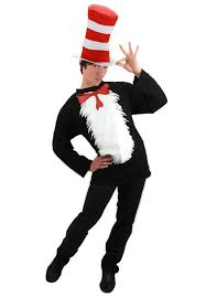 Mens Halloween T Shirts by Dr Seuss Cat In The Hat Teachers Book Week Costumes Costumes Com