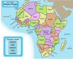 africa map quiz capitals capital city of africa images ancestral home