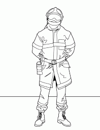firefighter coloring sheets coloring