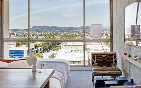 the line hotel room tour hollywood hills suite youtube