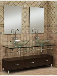Mural Of Small Bathroom Vanities With Vessel Sinks To Create Cool - Bathroom vanities double vessel sink