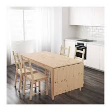 Pine Drop Leaf Table And Chairs Nornäs Drop Leaf Table Ikea Would Customize With A Grey Stain