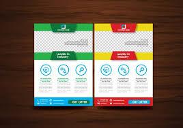 free flyer design vector brochure flyer design layout template vector