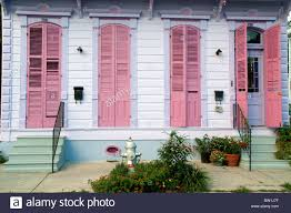 the exterior of a shotgun house in the new orleans neighbourhood