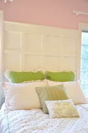 Yellow Feature Wall Bedroom Paneled Headboard Tutorial Evolution Of Style
