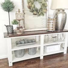 Farmhouse Console Table Add Wood To The Top Pallet Furniture Pinterest Awesome