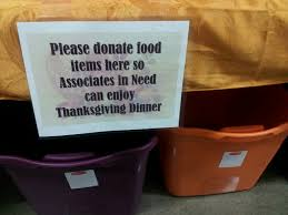 thanksgiving dinner help wal mart defends controversial food drive for employees today com
