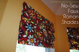 Sewing Cafe Curtains I Should Be Mopping The Floor 12 No Sew Window Treatments