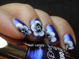 nail loopy flormar duo 2x chrome dc07 u0026 one stroke flowers