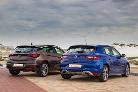 renault megane sport coupe comparative review opel astra 1 6t sport vs renault megane gt