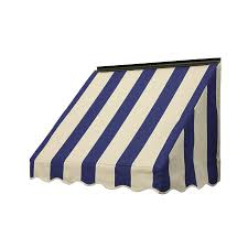 Awnings Lowes Shop Nuimage Awnings 42 In Wide X 18 In Projection Mediterranean