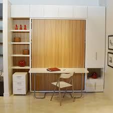 Murphy Bed Office Desk Combo Murphy Bed Office Desk In Herpowerhustle Plan 7 Throughout