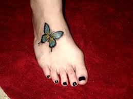 beautiful butterfly tattoos for