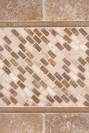 tuscany walnut 3x6 tumbled and noce chiaro mini brick travertine