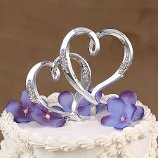 Wedding Cake Accessories Heart Wedding Cake Toppers Wedding Ideas