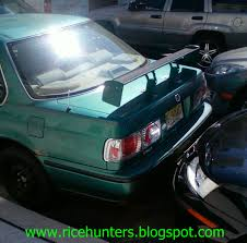 honda ricer wing rice hunters 2010