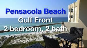 pensacola gulf front vacation rental 2 bed 2 bath 7 floor