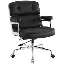 White Modern Desk Chair Modern Office Chairs Retro Office Chair Eurway