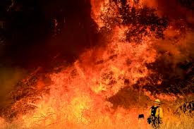 California Wildfires Rocky Fire by The Fire Apocalypse One Stop Under