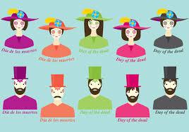 Dia De Los Muertos Costumes Dia De Los Muertos Costume Download Free Vector Art Stock