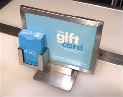 gift card display how to increase gift card sales 6 merchandising tips cps cards