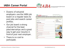 Best Place To Post Your Resume by International Association Of Black Actuaries C O Mosher