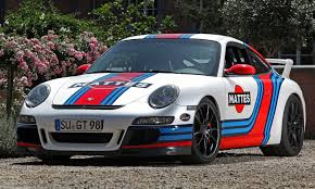 old racing porsche martini style racing livery by cam shaft for the porsche 911 gt3 17