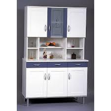 grand meuble de rangement 5 buffet de cuisine bleu et blanc bc3