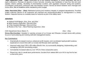 Retail Management Resume Examples by Retail Manager Resume Objective The Best Letter Sample 53