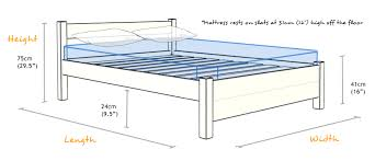 Height Of Bed Frame Uk And Us Bed Sizes Are Not The Same A Bed Size Refers To The