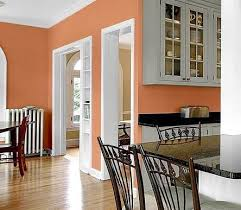 kitchen wall paint colors ideas terracotta with gray home