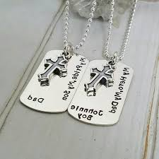 custom dog tag necklace and matching necklace dog tag caymancode