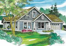Craftsman Home Plan Cape Cod Arts And Crafts Home With 3 Bedrms 1436 Sq Ft Plan