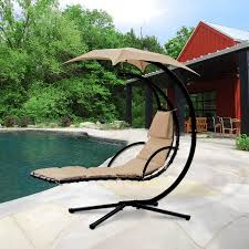 cloud mountain hanging chaise lounger chair air porch floating
