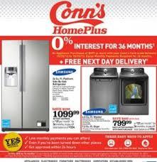 conns black friday 2017 conn u0027s ad october 20 october 26 2013 samsung platinum refrigerator