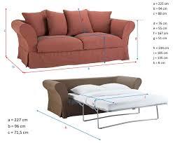 dimensions canapé 3 places ᐅ test et avis du canapé convertible roma de maisons du monde