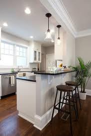 off white kitchen designs wooden kitchen design varnished wooden counter stainless steel