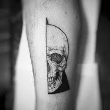 reference resume minimalist tattoos sleeves mexican charlotte lee tattoo geometric skull dotwork 3 3 cosas