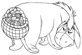 Easter Egg Decorating Coloring Pages by Winnie The Pooh Easter Themed Images Coloring Sheets And Easter