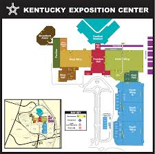 Map Of Kentucky State by Kentucky Exposition Center Facility Maps