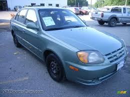 2004 hyundai accent for sale 2004 hyundai accent gl sedan in quartz green 509500