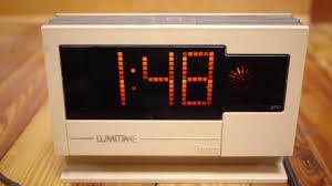 Cool Digital Clocks Vintage 70s Tamura Lumitime Japanese Digital Alarm Clock Model C