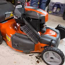 how to maintain a push mower